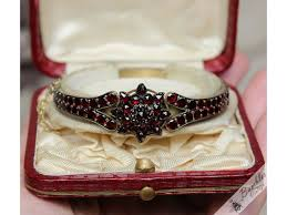 antique garnet bracelet images Antique bohemian garnet bracelet tombak with star cluster feature jpg