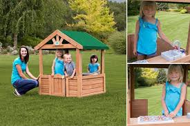 Backyard Discovery Winchester Playhouse Backyard Discovery Playhouse Backyard Discovery Giveaway Leap Into