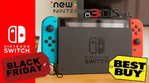 big best buy black friday deals on nintendo switch and 3ds