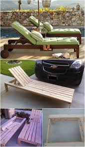 Diy Chaise Lounge 5 Sunbathing Loungers You Can Diy Free Plans Diy Crafts