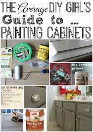 painting kitchen cabinet doors diy the average diy s guide to painting cabinets