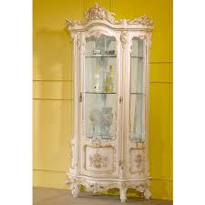 Curio Cabinet Corner Curio Cabinet White Curio Wallbinet Glamour Corner Mounted