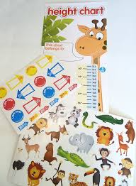 children s height chart with over 40 stickers amazon co uk toys children s height chart with over 40 stickers amazon co uk toys games