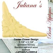 wooden corner appliques u0026 onlays for a shabby chic look u2013 da vinci
