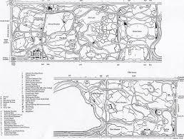 Map Central Park Central Park Maps
