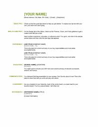 Basic Resume Template Pdf Basic Resume Samples Resume Examples Basic Resume Templates Free