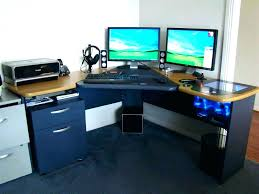 stand up desk multiple monitors 20 top diy computer desk plans that really work for your home two