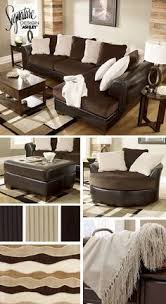 White Leather Living Room Furniture Living Room With Gray Walls Brown Leather White Fireplace