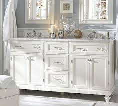 sofa endearing white bathroom double vanity pretty design