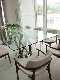Dining Room Glass Kitchen Dining by Best 25 Glass Dining Table Ideas On Pinterest Glass Dinning