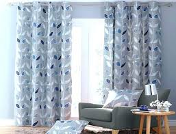 White Curtains With Blue Trim Decorating Blue And White Curtains Enchanting White Patterned Curtains Blue