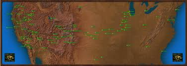 Los Angeles Gangs Map Territory by Fallout World Fallout Wiki Fandom Powered By Wikia