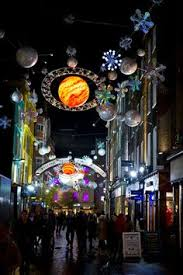 london christmas lights walking tour carnaby street london christmas 2012 it s only rock n roll