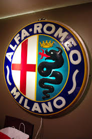 alfa romeo emblem scootermcrad u0027s whatchaworks alfa romeo sign anyone know