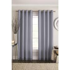 Searsca Sheer Curtains by Alyssa U0027 2 Pack Lined Sheer Voile Panels Curtain For 9 94 Home
