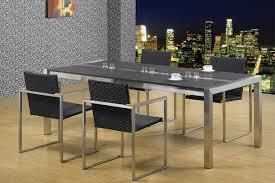 Esszimmertisch Esszimmertisch Edelstahl Mit Granitplatte Von Szagato Lxb