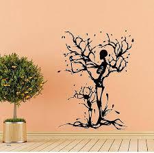 monkey wallpaper for walls monkey wall decals unique highfs halloween skeleton tree wall decals