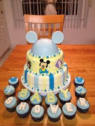 baby mickey baby shower baby mickey baby shower cake cupcakes just becups
