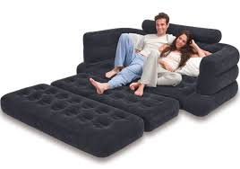Sofa Bed Mattress Support by Intex Inflatable Pull Out Sofa And Queen Air Mattress