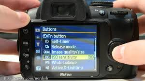 tutorial setting the function button on nikon dslrs youtube