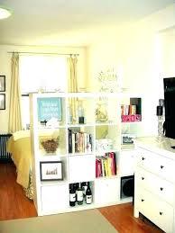 Bedroom Divider Ideas Studio Apartment Room Dividers Furniture For