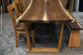 custom solid hardwood table tops live edge slabs walnut dining in