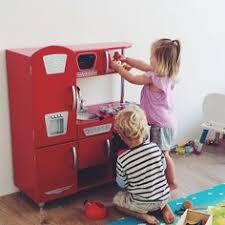 Kidkraft Kitchen Red - red vintage kitchen playkitchen kidkraft kidkraftkitchens