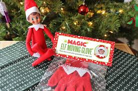diy magic elf on the shelf moving glove with free printable