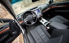 subaru outback interior 2012 subaru outback 3 6r limited editors u0027 notebook automobile