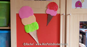 bricolage chambre bricolage déco pour chambre ou fête d enfants des glaces géantes