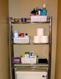 Bathroom Storage Bins by Bathroom Storage Over Toilet Brown Cotton Towel Small Bathroom
