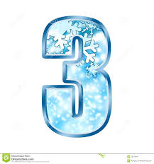 winter alphabet number 6 six stock photography image 7038042