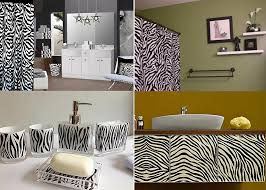zebra bathroom decorating ideas zebra prints and decorative