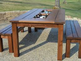 Free Patio Furniture Plans by Patio 19 Wood Patio Table Free Outdoor Patio Table Plans