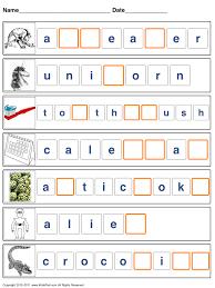printable spelling worksheets for kids spelling sight words