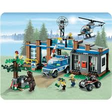 lego police jeep lego city 4440 forest police station from conrad com
