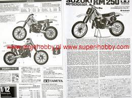 suzuki rm250 motocrosser tamiya 14013