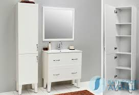 White Bathroom Furniture Uk Traditional Freestanding Bathroom Cabinet White Classico