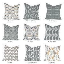 one high quality home decor cover grey pillow decorative throw