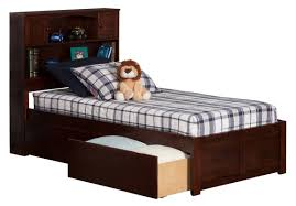 Furniture With Storage Atlantic Furniture Newport Extra Long Twin Platform Bed With