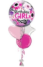 order helium balloons for delivery birthday girl floral bouquet buy helium balloons