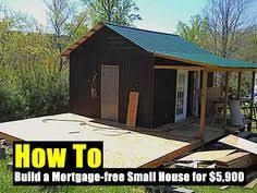 build an 8 x 13 6 guest bunkie or cottage cabin diy plans tiny