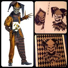 skeleton costume halloween city the keeper u0027s notes joker u0027s wild skeleton playing cards