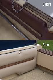How To Reupholster Boat Cushions How To Upholster Side Panels On A Powerboat Video Sailrite