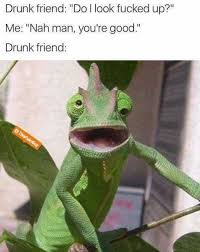 dopl3r com memes drunk friend do l look fucked up me nah man
