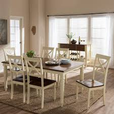light brown wood dining room sets kitchen dining room ashton 8 piece buttermilk and medium brown wood dining set