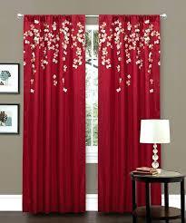 Blue Green Sheer Curtains Bright Sheer Curtains Mirak Info