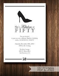 diy printable pdf and jpeg classic invites stiletto surprise
