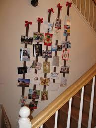 christmas card display holder the door christmas card holder christmas lights decoration