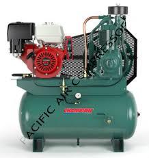 champion hgr7 3h 13hp honda gas powered air compressor belaire